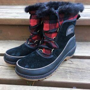 Sorel Women's Tivoli III Boots Buffalo Check 11